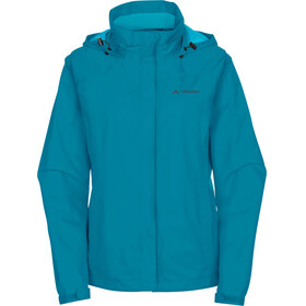 VAUDE Escape Bike Light Jacket Women alpine lake